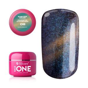 Gel UV Color Base One Silcare Magnetic Chameleon 08