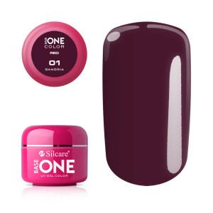 Gel UV Color Base One 5g Red Sangria 01