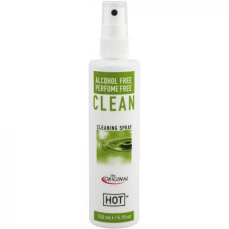 Spary Solutie de curatare jucarii erotice Hot Antibacterial Fara alcool 150 ml