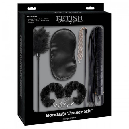 Set Bondage Negru Fetish Fantasy Limited Edition