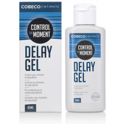 Control The Moment Delay Cobeco Gel Intarziere Ejaculare 85 ml pentru Barbati