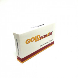 Capsule pentru Erectie Gold Power 2 capsule