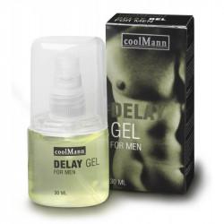 CoolMann Delay Cobeco Gel Intarziere Ejaculare 30 ml pentru Barbati