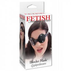 Masca Blinder Fetish Fantasy negru