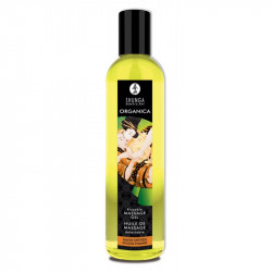 Ulei de masaj Erotic organic Migdale dulci Shunga 250 ml