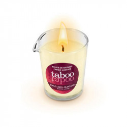 Candela de masaj si ambient Caresses ardentes Taboo 60 gr