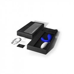 Vibrator Rabbit LELO Loki Wave Albastru