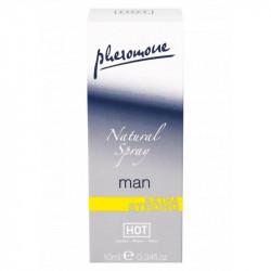 Twilight Natural Hot Spray Parfum cu Feromoni 10 ml pentru Barbati