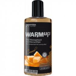 Ulei de masaj cu efect de incalzire Caramel Joydivision 150 ml