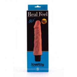 Dildo cu Vibratii 20 cm - Real Feel LoveToy