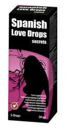Spanish Love Drops Secrets Cobeco Picaturi Afrodisiace 30 ml Unisex