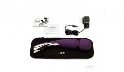Vibrator clitoridian LELO Smart Wand (Mare) Violet