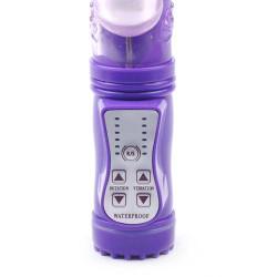 Vibrator rabbit pearls purple Violet
