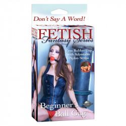 Calus cu Bila Rosie Fetish Fantasy Beginner