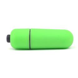 Vibrator glont mini green Verde