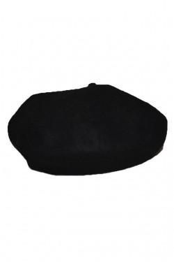 Bereta calduroasa de iarna, culoare neagra, model simplu, clasic