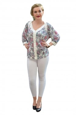 Poze Bluza clasica eleganta, maneca trei-sferturi