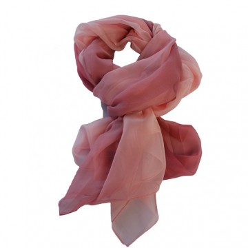 Esarfa fashion de culoare roz,bleumarin,cremj din material fin