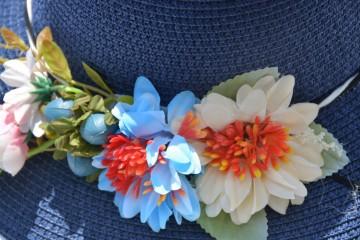 Palarie clasica de vara din paie in diferite culori