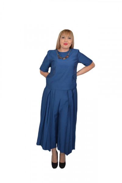 Poze Costum din doua piese Isla,nuanta de bleumarin