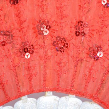 Evantai fashion de culoare din material textil