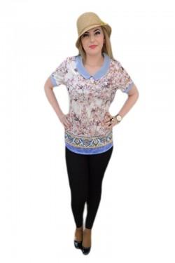Bluza moderna, cu efect de 3D