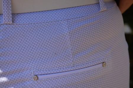 Pantaloni Ximena lungi,nuanta de alb