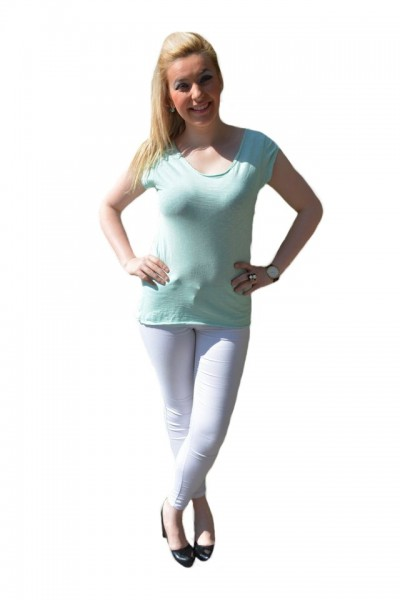 Poze Tricou tineresc cu imprimeuri de stelute albe