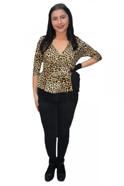 Poze Bluza eleganta Tania ,imprimeu animal print