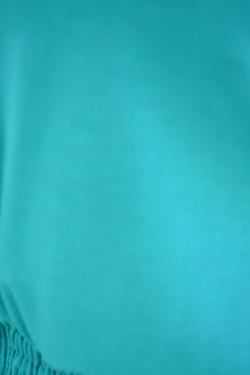 Camasa cu maneca lunga, in talie cu o banda elastica, turcoaz