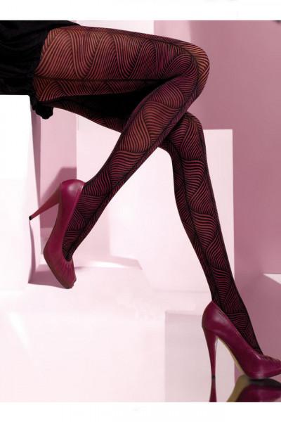 Ciorapi cu model deosebit 40 DEN