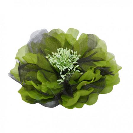 Poze Brosa tip agraf din floare ,diferite nuante