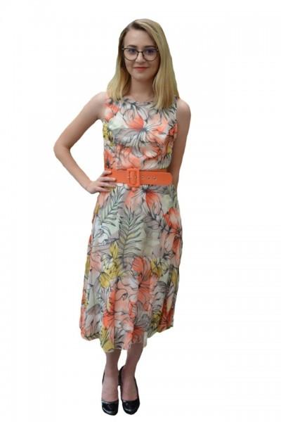 Rochie casual Rebekah cu imprimeu floral