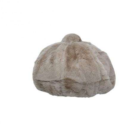Poze Caciula Genevie din blanita sintetica,nuanta de maro