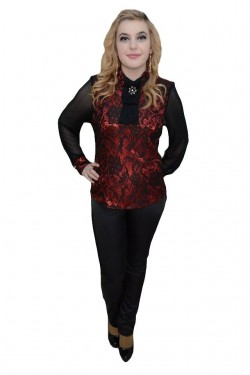 Poze Pantalon cu buzunare elegante apretate lateral, nuanta de negru