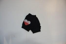 Manusa tinereasca de culoare neagra, model fashion fara degete