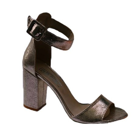 Poze Sandale cu toc nuanta auriu
