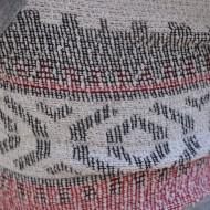Pantalon scurt de vara, material usor elastic, design gri, rosu, alb