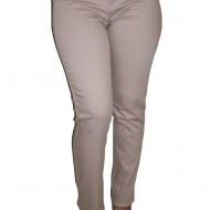 Pantaloni lungi, culoare bej, de primavara-toamna