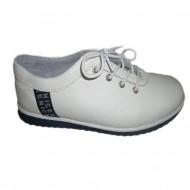 Pantof de calitate, nuanta de alb, croiala deosebita si chic
