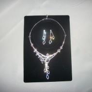 Seturi de bijuterii, rafinate de culoare argintii