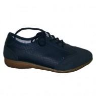 Adidas modern, talpa joasa si siret, combinatie cu velur, bleumarin
