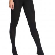 Ciorap simplu si comod, nuanta de negru, cu densitate de 90 DEN
