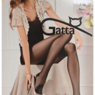 Ciorapi lycra de dama, model simplu, cu design doar in zona talpii