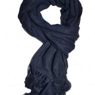 Esarfa fancy toamna-iarna ,nuanta bleumarin