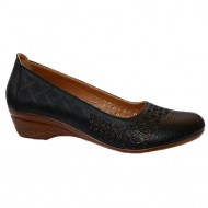 Pantof cu platforma mica , nuanta de negru