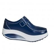 Pantof dama sport Dianne cu talpa ortopedica ,nuanta de albastru