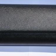 Poseta trendy de ocazie, culoare neagra, model simplu tip plic