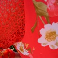 Rochie rafinata ,croi lejer cu imprimeu floral