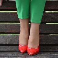 Sandale moderne, cu toc inalt, cu varf ascutit